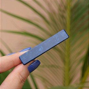 Presilha bico de pato acetato azul