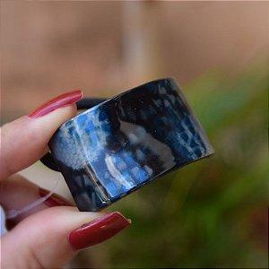 Rabicó Finestra acrílico retangular snake azul N359LA