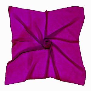 Lenço Quadrado liso pink