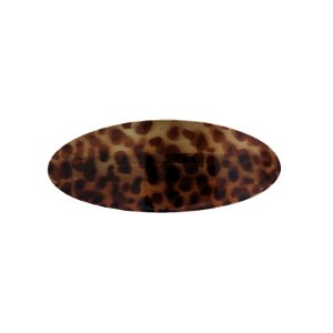 Presilha oval francesa Finestra animal print F2819APO
