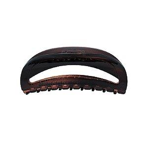 Piranha de cabelo francesa Finestra vazada marrom  F22942