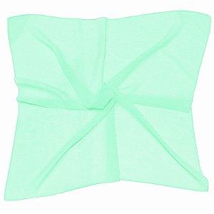 Lenço Quadrado liso verde
