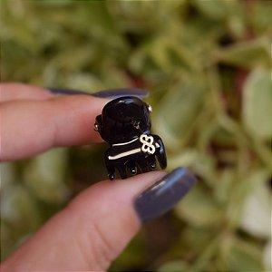 Piranha de cabelo mini Bianca preta 05 157