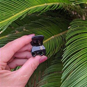 Piranha de cabelo mini Bianca preta 05 156