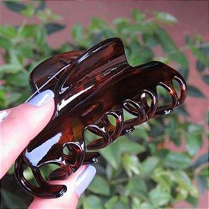 Piranha de cabelo francesa Finestra tartaruga N391