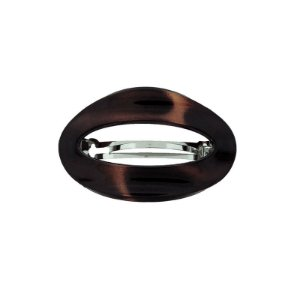 Presilha oval francesa Finestra tartaruga F2809