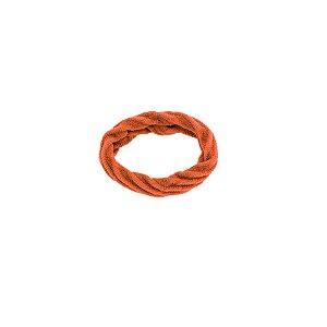Elástico xuxa para cabelo laranja
