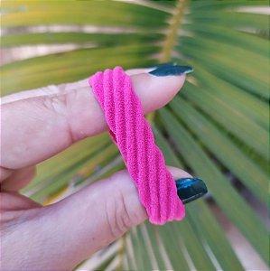 Elástico xuxa para cabelo pink