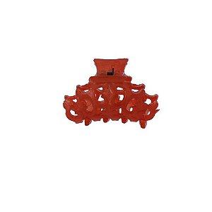 Piranha de cabelo pequena francesa Finestra vermelho N457rouge
