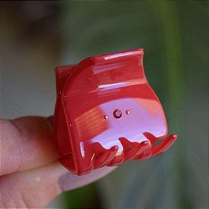 Piranha de cabelo francesa Finestra vermelho strass N748/2rouge