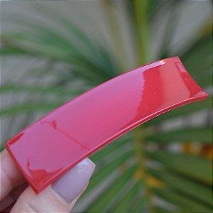 Presilha retangular francesa Finestra vermelho queimado F2821Rouge