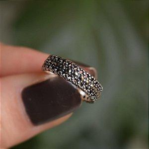 Anel prata 925 com marcassitas