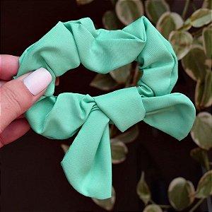 Rabicó fru fru tecido verde