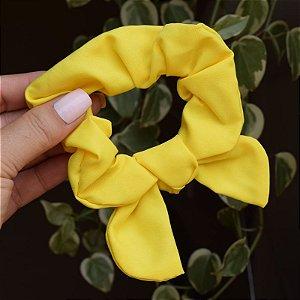 Rabicó fru fru tecido amarelo neon