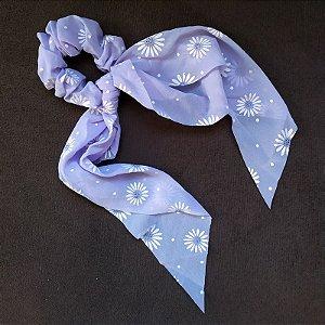 Elástico para cabelo scrunchie lilás 560303