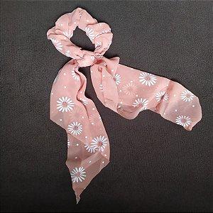 Elástico para cabelo scrunchie rosa antigo 560303
