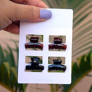 Piranha para franja cartela com 4 peças