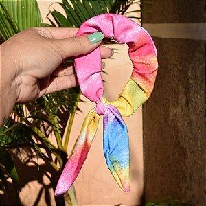 Rabicó fru fru lacinho tecido tie dye 560618