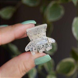 Piranha de cabelo Bianca acrílico rendada transparente 05 152