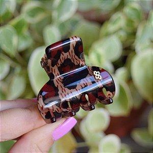 Piranha de cabelo Bianca acrílico animal print 05 067
