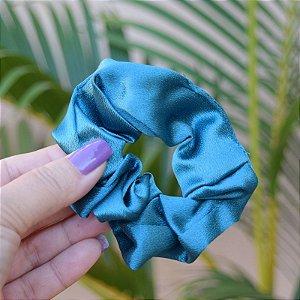 Rabicó fru fru cetim verde esmeralda