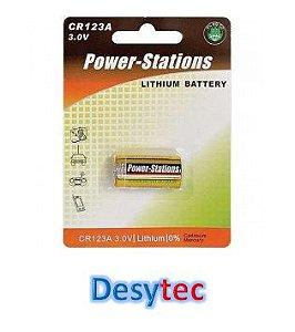 Bateria de Lithium  CR 123A