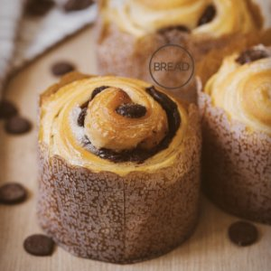 Cruffin de Chocolate (4 un)