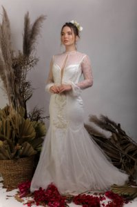 Vestido de Noiva Semi-Sereia - ANNA