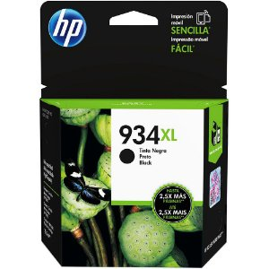 Cartucho de Tinta Original HP934xl HP6230 6280 Preto 25.5ML