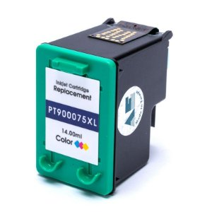Cartucho de Tinta Compatível com HP 75XL C4480 C4280 C5280 Colorido 14ML