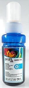 Refil de Tinta Epson L3110 L3150 L4150 L4160 L6191 L6161 L6171 Azul 70ml.