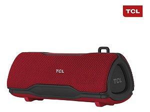 Caixa De Som Tcl 16w Rms Vermelha Bs16b Com Nfe E Garantia