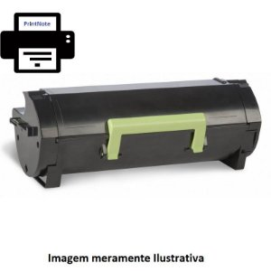 Toner Remanufaturado Lexmark MX310 410 511 611 MS610 10k