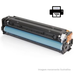 Toner compatível com HP CC540 125A 128A Preto CM1312 CP1215 CP1515 CM1415 2.2k