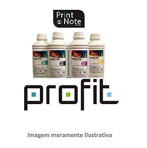 Refil de Tinta para HP Preta 1LT 8727 9351 6656 6615 Corante Profit