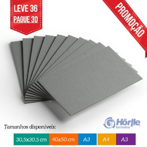 * Leve 36 Pague 30 - Cartão Cinza H