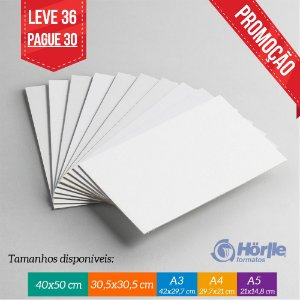 * Leve 36 Pague 30 - Cartão Capa Branca
