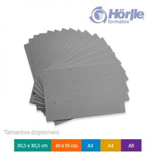 Pacote 10 - Cartão Cinza
