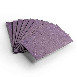 Cartão Color Face - Lilás - Pacote 10 folhas -