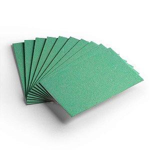 Cartão Color Face - Verde Claro - Pacote 10 folhas -