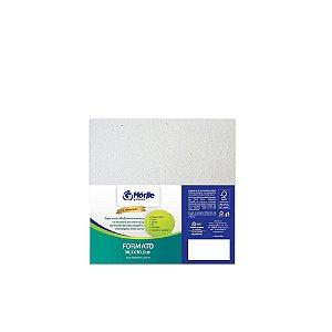 Cartão Cinza H - Medida 30,5x30,5cm  - Pacote 10 unidades