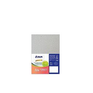 Cartão Cinza - Medida A4 - Pacote 10 unidades