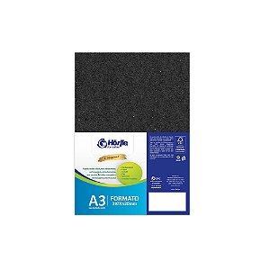 Cartão Preto H - Medida A3 - Pacote 10 unidades
