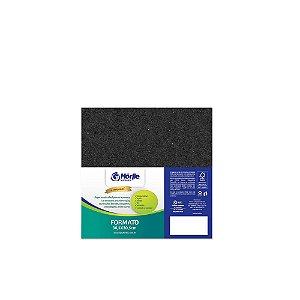 Cartão Preto H - Medida 30,5x30,5cm - Pacote 10 unidades