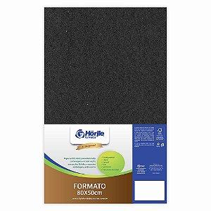 Cartão Preto H - Medida 80x50cm - Pacote 10 unidades