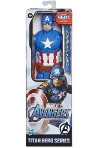 Boneco Avengers Capitão América Titan Hero Hasbro