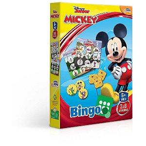 Jogo Bingo Mickey Disney Junior Brinquedo Educativo Toyster