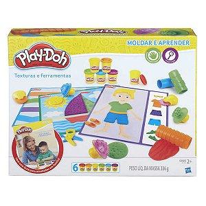 Conjunto de Massinhas Play-Doh  Aprendizado Sensorial Hasbro