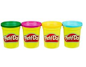 Massa de Modelar Play-Doh - Cores Sortidas - Série Brincadeiras - Hasbro