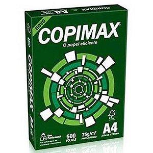 Papel Sulfite Copimax A4 75g 210x297mm Com 500 Folhas - Suzano